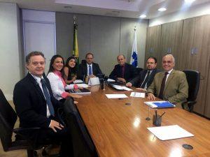 Diretoria da ABHU reúne-se com Ministro da Saúde em busca de recursos