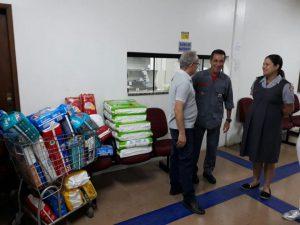 Projeto Amor de Criança recebe doações de fraldas do Corpo de Bombeiros