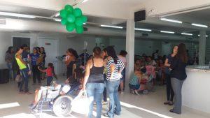 Atendidos pelo projeto Amor de Criança celebram o fim de ano com festa
