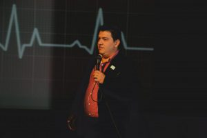HBU marca resença na Semana de Enfermagem realizada pelo Coren