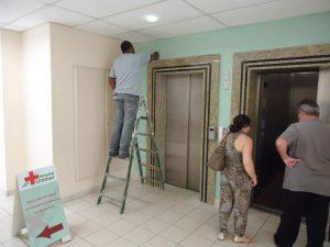 Hospital ABHU começa trabalho de revitalização