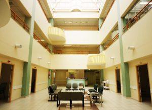 Hospital ABHU cria praça de convivência