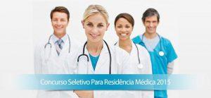 LISTA DE CLASSIFICAÇÃO NO PROCESSO DE SELEÇÃO DE RESIDÊNCIA MÉDICA 2015