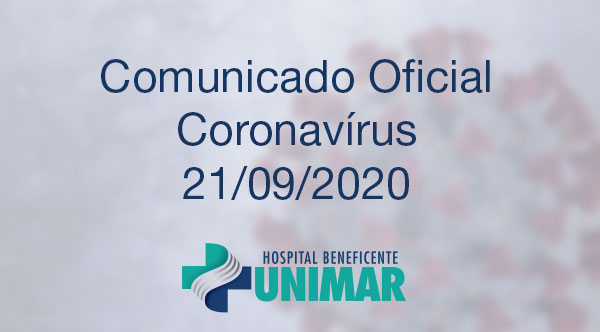Comunicado Oficial COVID-19 21/09/2020